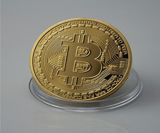 COIN - Bitcoin-Münze, gold